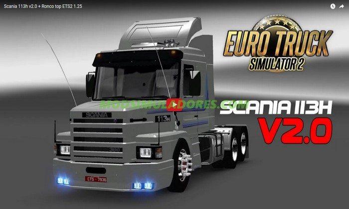 Caminhão Scania 113H + Ronco V.2.0 Para V.1.26.X - ETS2