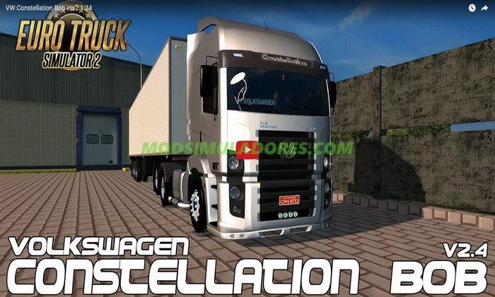 Caminhão VW Constellation + Ronco V.2.4 Para V.1.26.X - ETS2