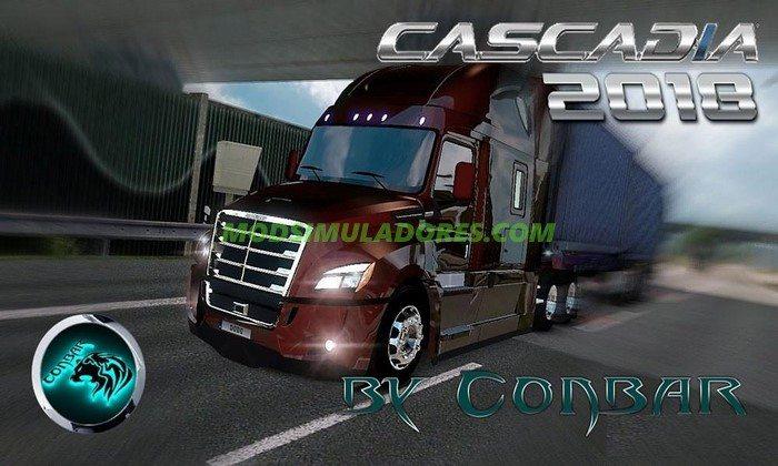 Caminhão Freightliner Cascadia V.3.7 Para V.1.26.X - ETS2