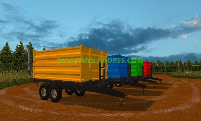 Pack Reboques Basculantes - FS15