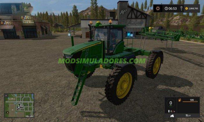 Trator John Deere R4045 V1.0 - FS17