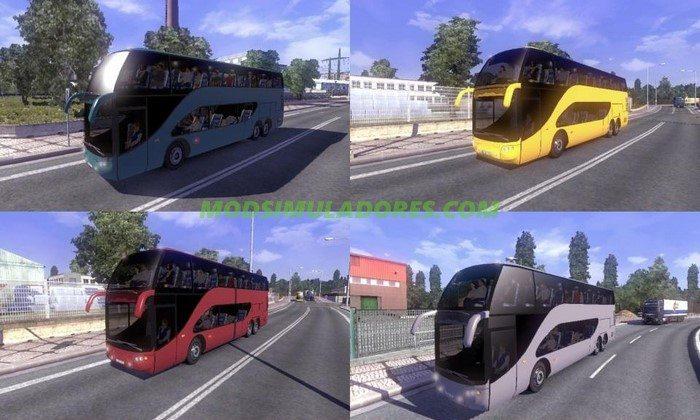 Mod Ônibus Ayats Bravo Para o Tráfego V.1.1 Para V.1.26.X - ETS2
