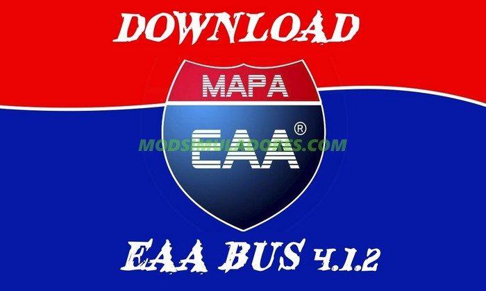Mapa EAA Bus 4.1.2 Para V.1.26.X - ETS2