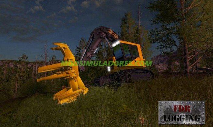 Esteira FDR Logging Feller Buncher - FS17