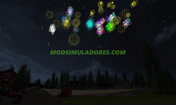 Mod Ano Novo - FS17