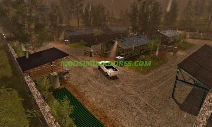 Mapa Goldcrest Productions V3.0 - FS17