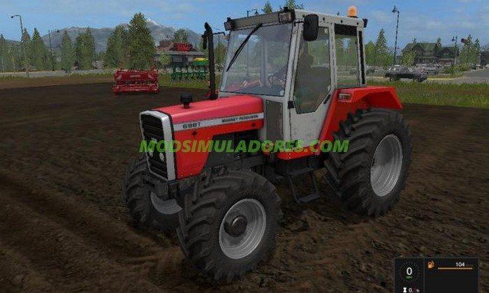 Trator Massey Ferguson 698 FL V1.1 - FS17