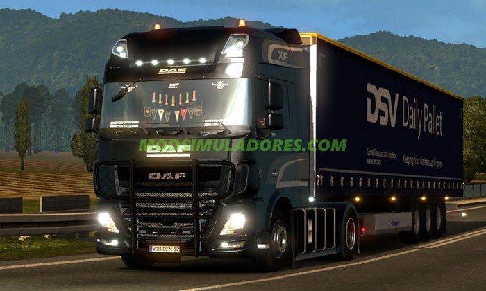 Caminhão Daf XF E6 V.1.72 Para V.1.26.X - ETS2