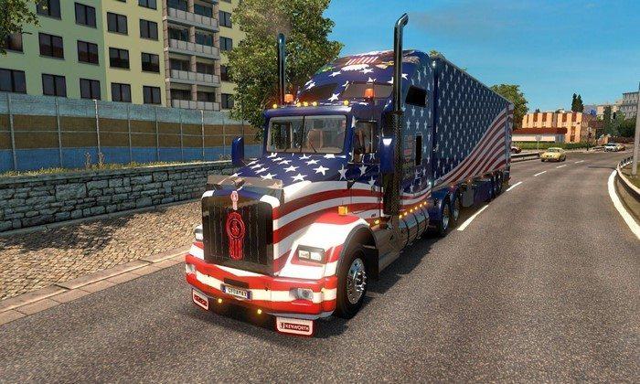 Pack de Caminhões Americanos Para V.1.26.X - ETS2