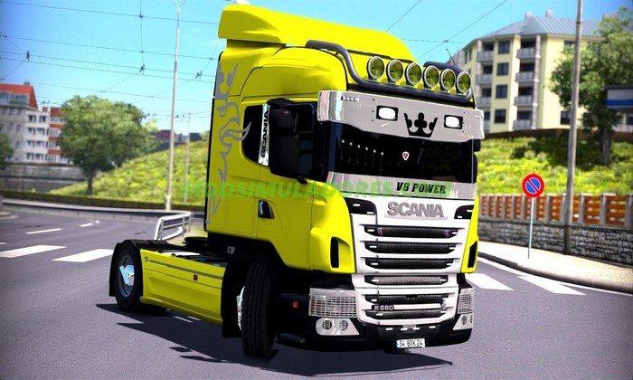 Caminhão Scania Mega Séries Para V.1.26.X - ETS2