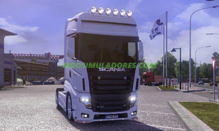 Caminhão Scania R700 Final 2017 Para V.1.26.X - ETS2