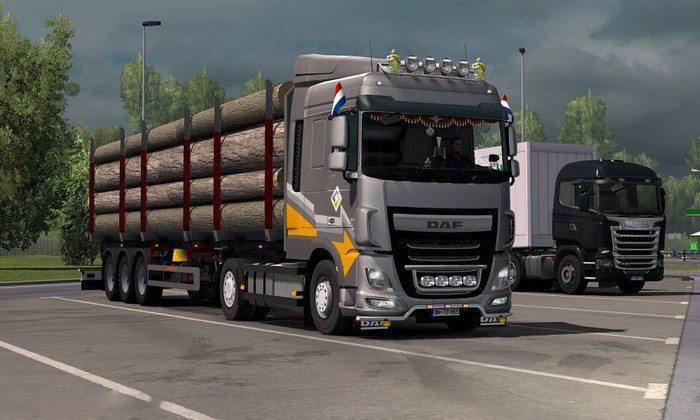 Caminhão Daf XF Euro 6 Reworked v1.5 Para V.1.26.X - ETS2
