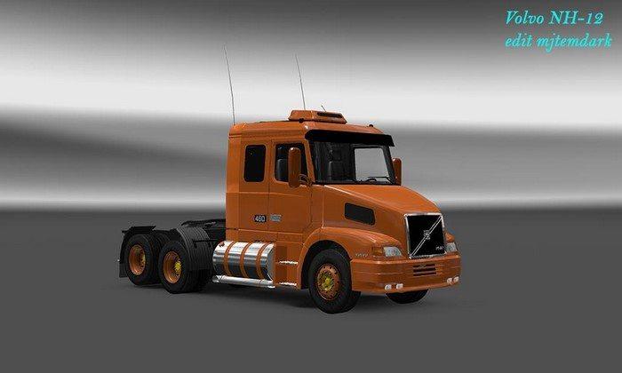 Caminhão Volvo NH12 V.1.0 Para V.1.27.X - ETS2
