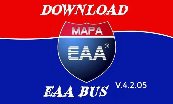 Mod EAA Bus V.4.2.05 Beta Para V.1.26.X - ETS2