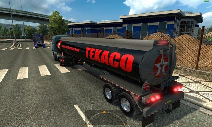 Reboque Tanque Texaco Para V.1.26.X - ETS2