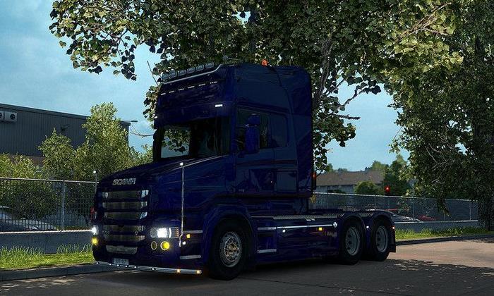 Caminhão Scania T + Acessórios V.2.0 Para V.1.27.X - ETS2