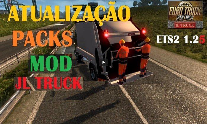 Pack de Caminhões Brasileiros Para o Tráfego V.7.2 Para V.1.27.X - ETS2