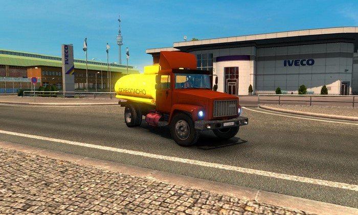 Caminhão Gaz 3307-08 V.3.0 Para V.1.27.X  - ETS2