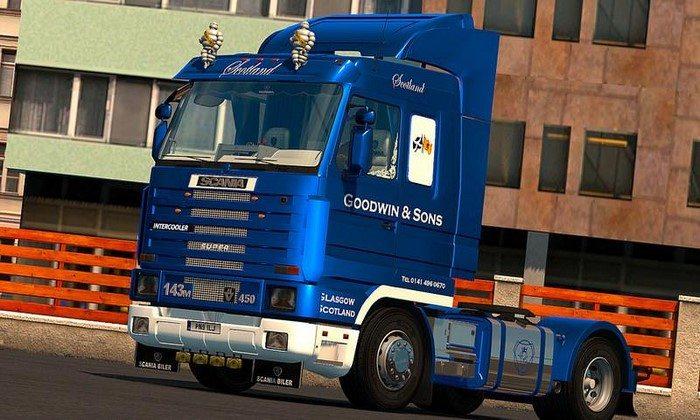 Caminhão Scania 143M V.4.0 Para V.1.27.X  - ETS2