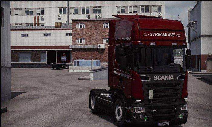 Mega Mod Para Scania R V.6.5 Para V.1.27.X - ETS2