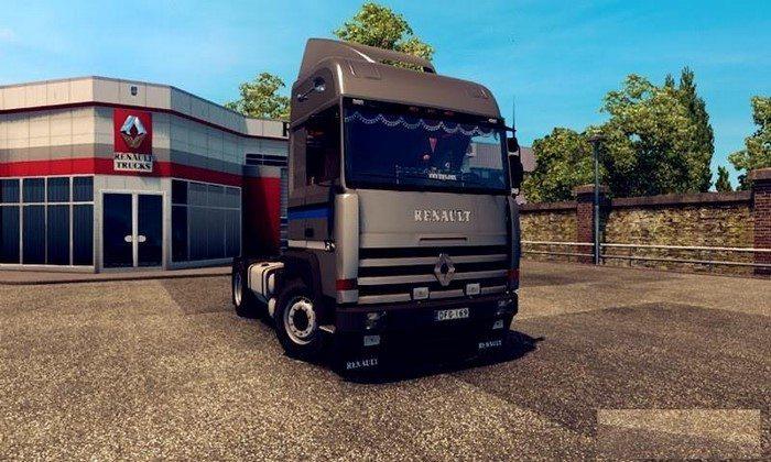Caminhão Renault Major V.2.1 Para V.1.27.X - ETS2