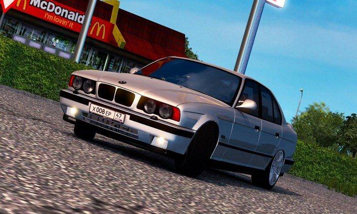 Carro BMW E34 Beta Para V.1.27.X - ETS2