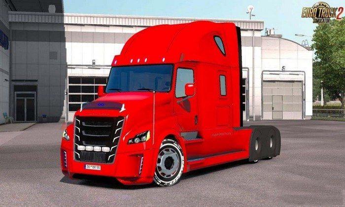Caminhão Freightliner Inspiration V.1.0 Para V.1.27.X - ETS2