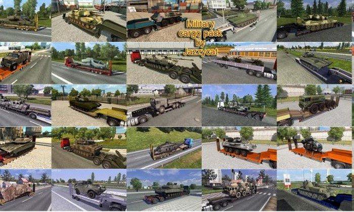 Pack de Reboques Militares V2.3 Para V.1.27.X - ETS2