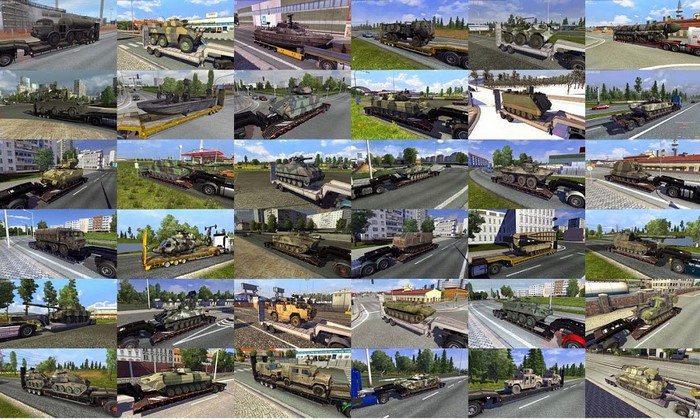 Pack de Cargas Militares V.2.3.1 Para V.1.27.X - ETS2