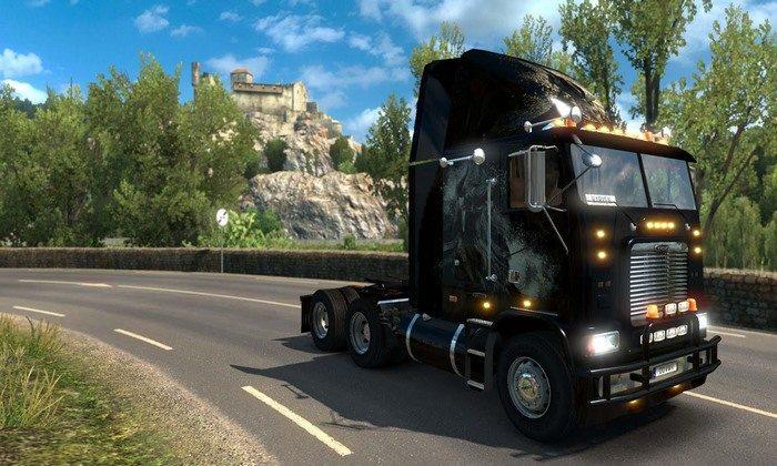 Caminhão Freightliner FLB Edit V.1.3 Para V.1.27.X - ETS2