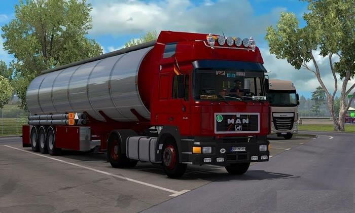 Caminhão Man F90 V.3.02 Para V.1.27.X - ETS2