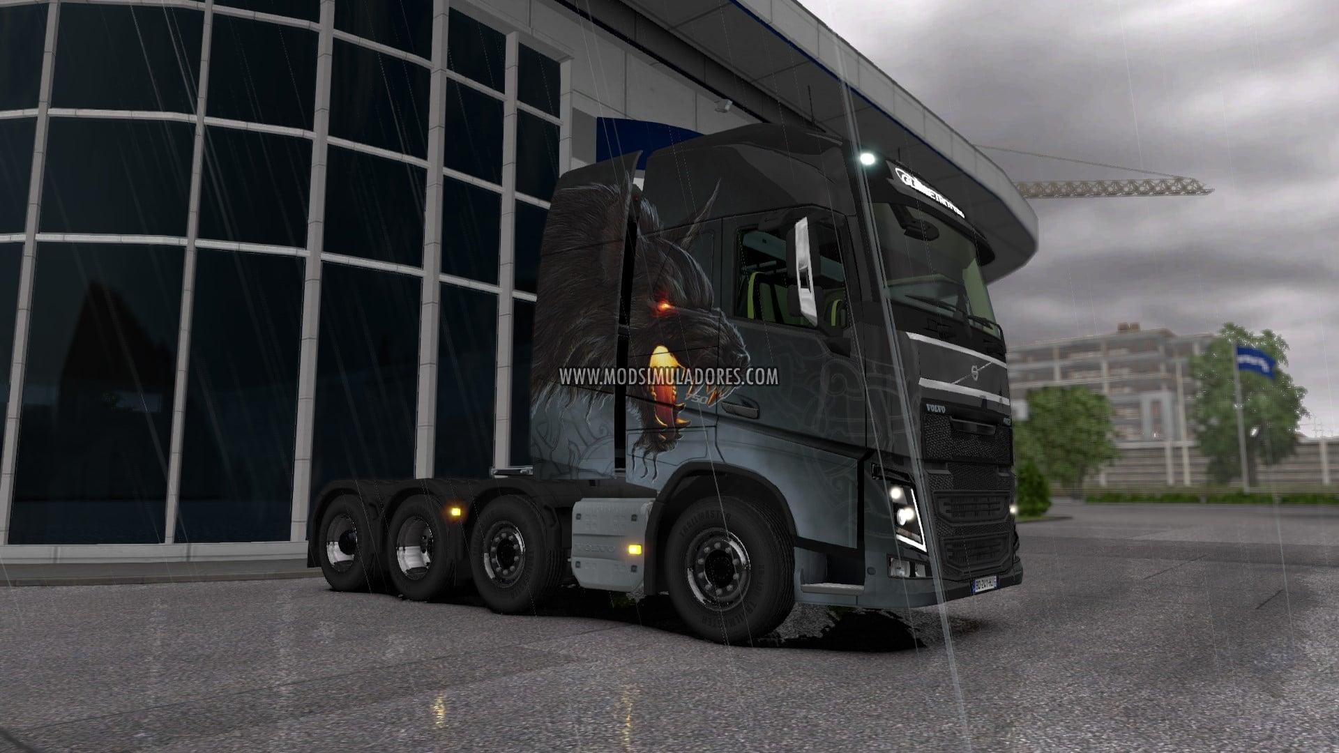 Caminhão Volvo FH16 2013 Edit V.22.02R Para V.1.27.X - ETS2