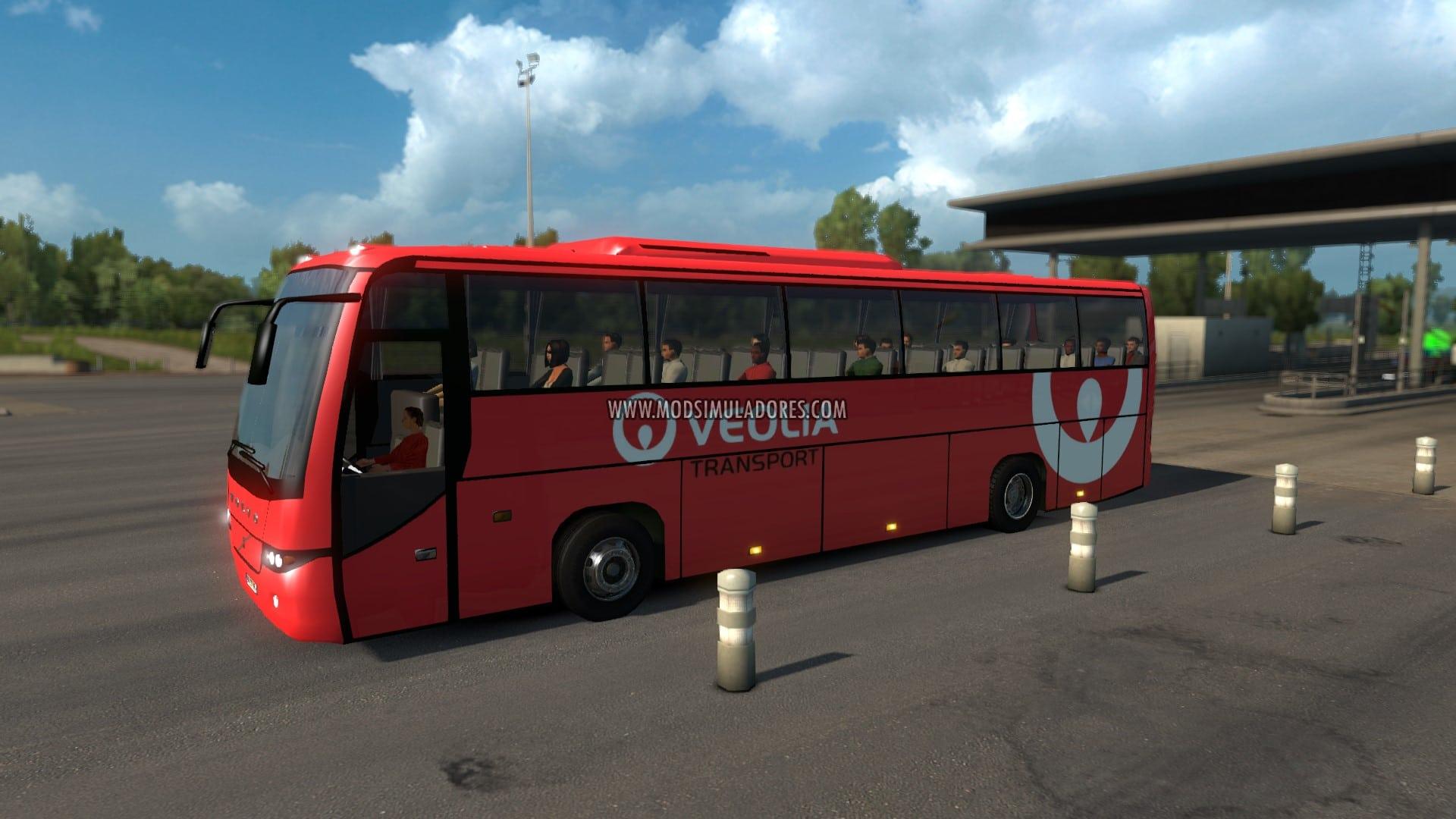 Pack de Ônibus Para o Tráfego V.2.3 Para V.1.27.X - ETS2