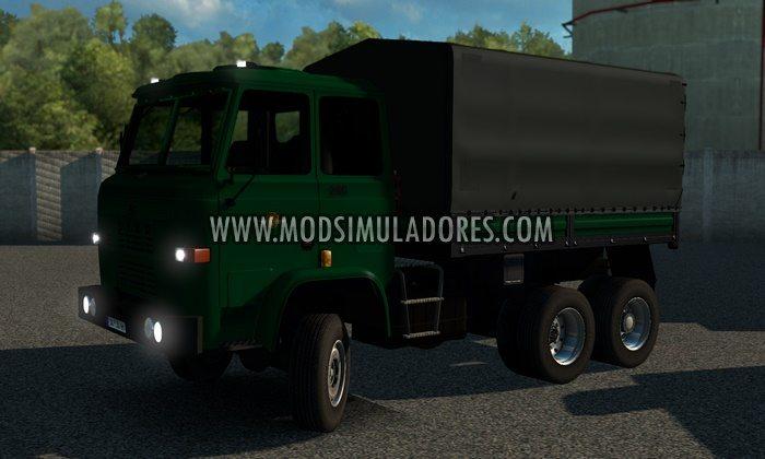 Caminhão F.S.C Star 200 Reformulado V.2.3 Para V.1.28.X - ETS2