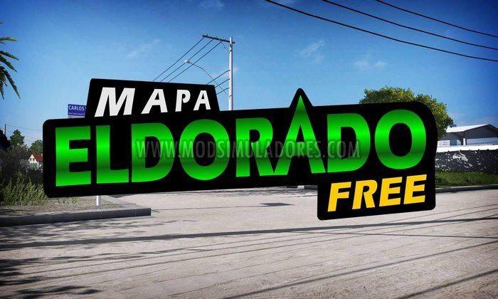 Mapa Eldorado Free V.1.6.8 Para V.1.28.X - ETS2