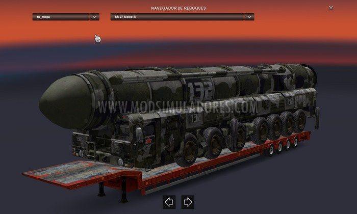 Pack de Cargas Militares V.2.3.2 Para V.1.28.X - ETS2