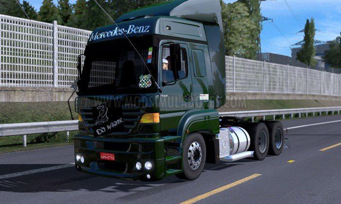 Caminhão Actros 2546 Brasileiro Para V.1.28.X - ETS2
