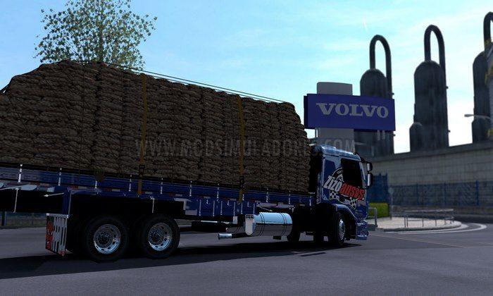 ETS2 Caminhão Volvo VM 270 Bau Qualificado Para V.1.28.X
