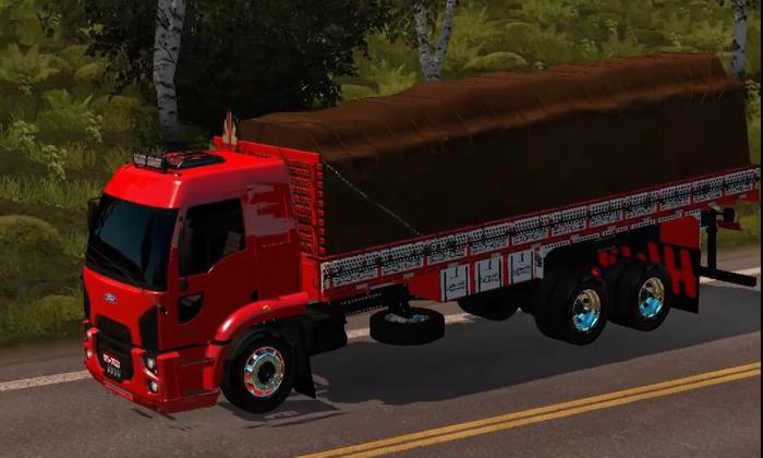 Caminhão Ford Cargo 2924 Para V.1.28.X - ETS2