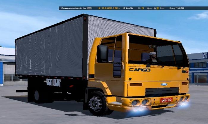 Caminhão Ford Cargo 815 Para V.1.28.X - ETS2