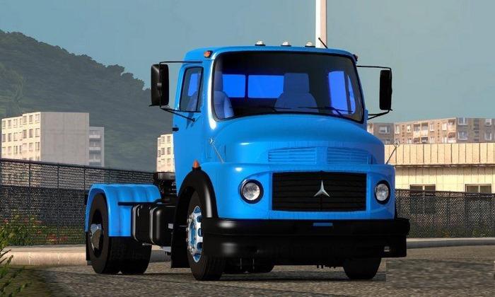 Caminhão Mercedes Benz 1114 V.2.0 Para V.1.28.X - ETS2