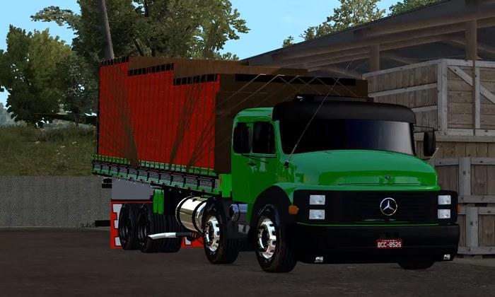 Caminhão Mercedes Benz 1519 Para V.1.28.X - ETS2