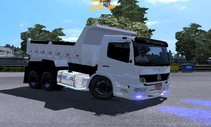 Caminhão Mercedes Benz Atego 2425 Para V.1.28.X - ETS2