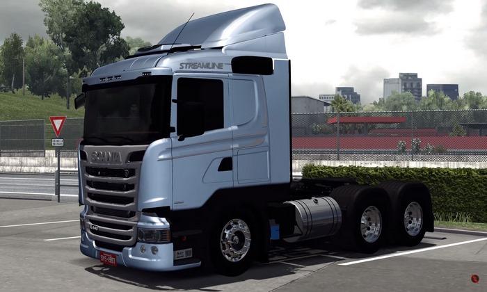Caminhão Scania Streamline 440 Para V.1.28.X - ETS2