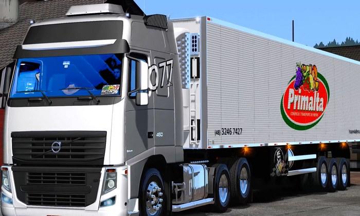 Caminhão Volvo Ramires Primata Para V.1.28.X - ETS2