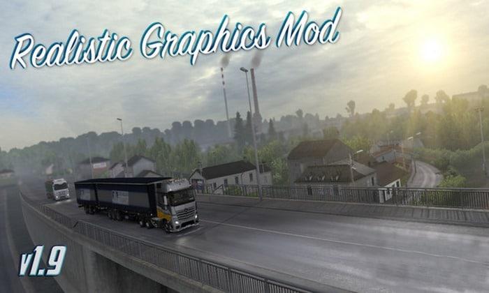 Mod Gráficos Realista V.1.9.2 Para V.1.30.X - ETS2