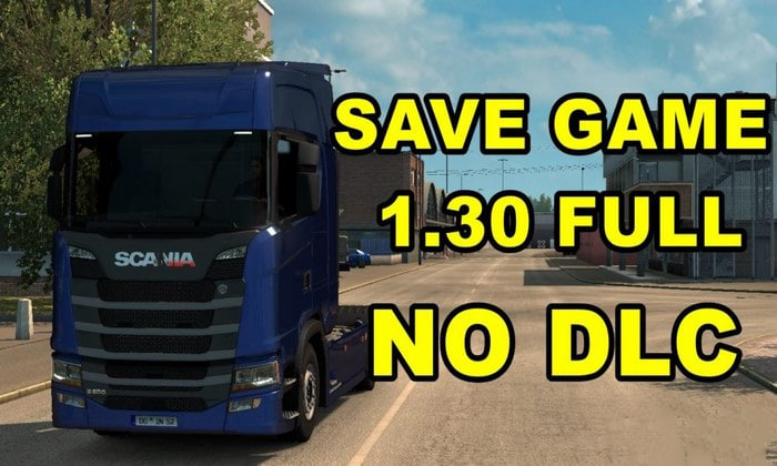 Save Game 100% Completo Para V.1.30.X - ETS2