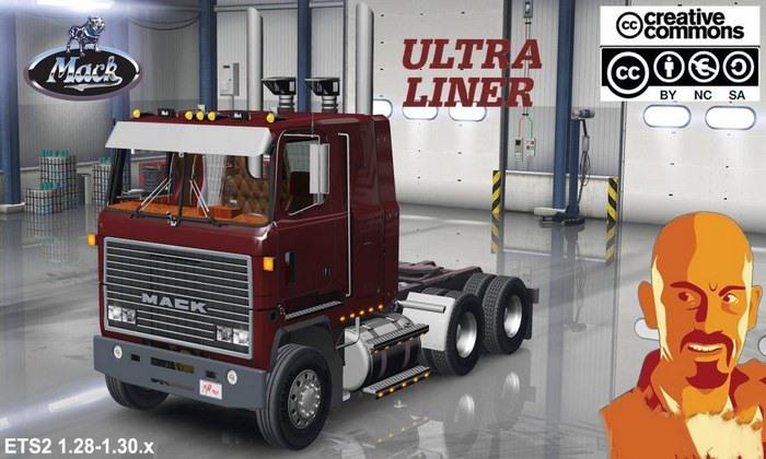 Caminhão Mack Ultraliner Para V.1.30.X - ETS2