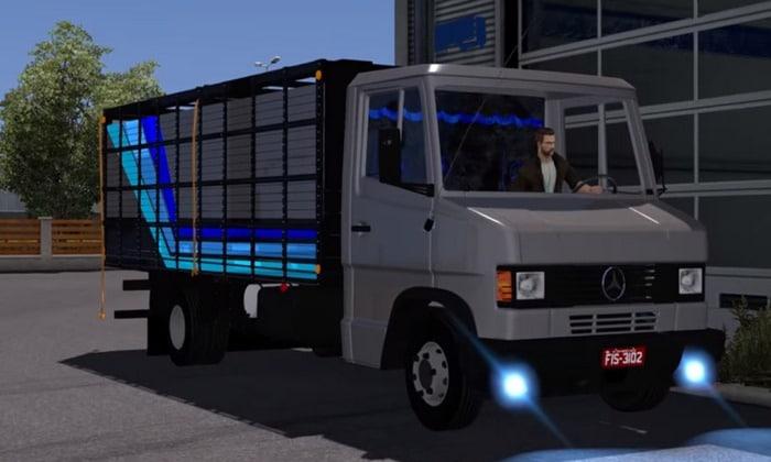 Caminhão Mercedes Benz 710 3/4 Boiadeiro Para V.1.30.X - ETS2