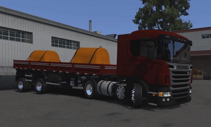 Caminhão Scania R + Granel 2 Eixos Para V.1.30.X - ETS2